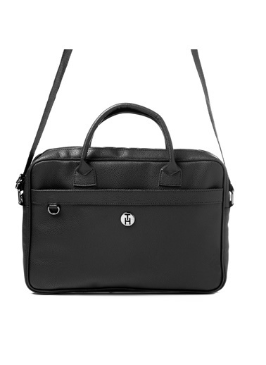 TH Bags TH Bags 2THCM2020007 Laptop Evrak Çantası Siyah